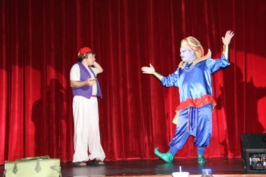 CAU community players perform Aladdin