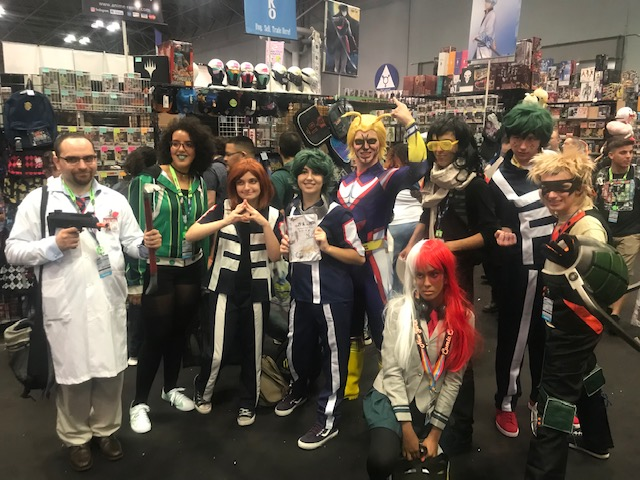 Comic Con group photo