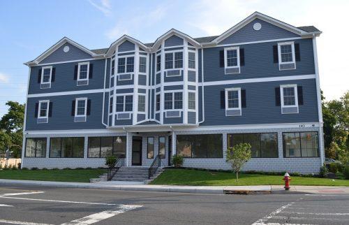 CAU housing building exterior view