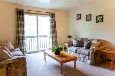 Hillside living room