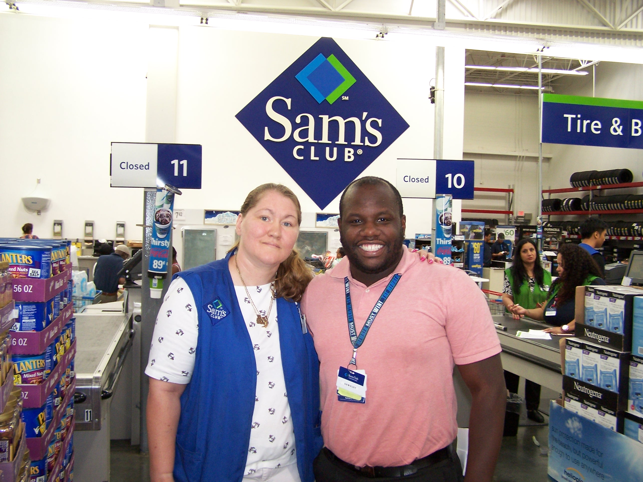 Sam's club employment services