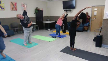 Day program yoga class