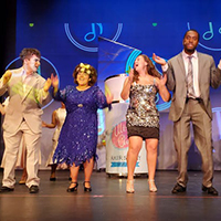 CAU Community Players performing HairSpray