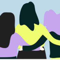 families hug
